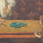 Подарок. 2006. х.м. 80х130