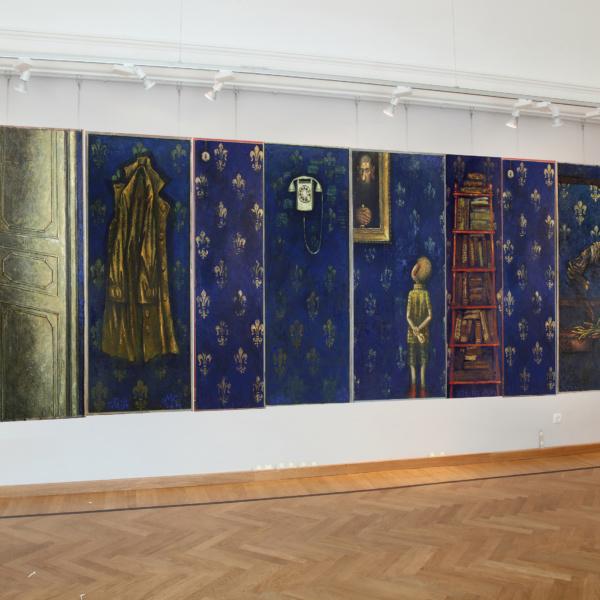Выставочный зал Стена 1 — Серия Коридор II