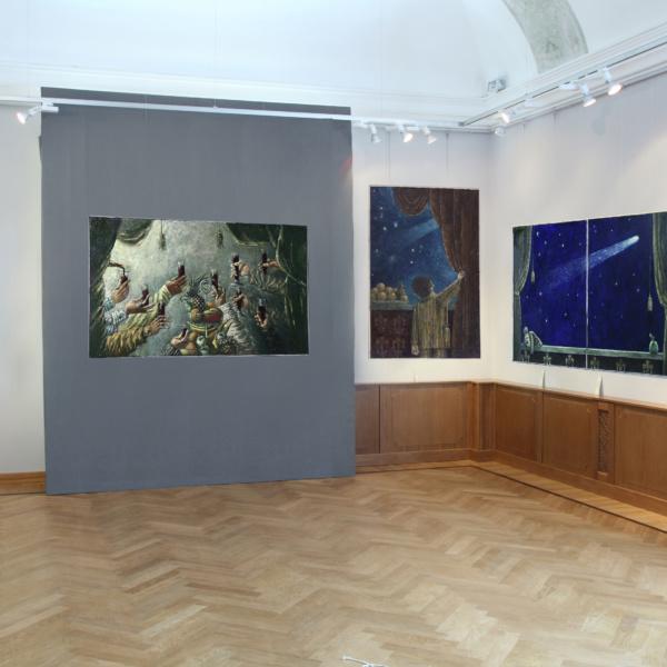 Выставочный зал Стена 2