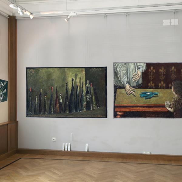 Выставочный зал Стена 3