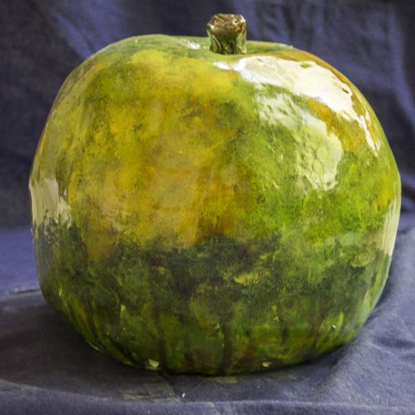Зеленое яблоко. Шамот. 2016