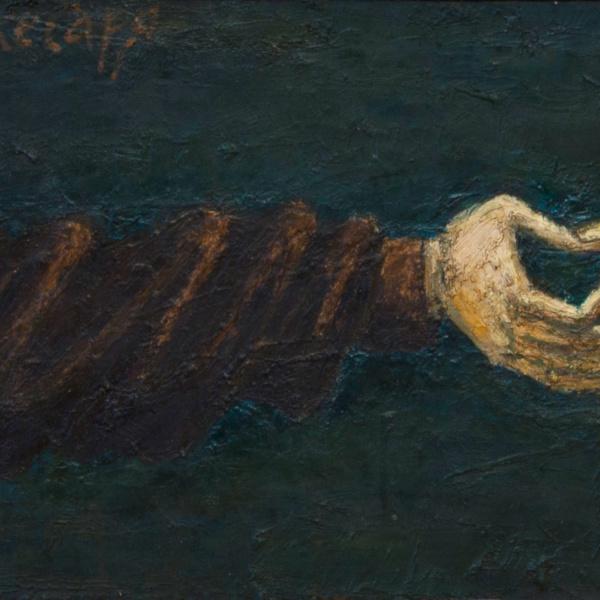 Динарий кесаря. х.м. 30х100. 2002