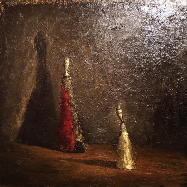 Блудный сын (на тему Рембрандта). 60х70. 1997