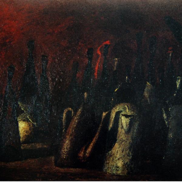 Ночной дозор (на тему Рембрандта). 73х100. 1997
