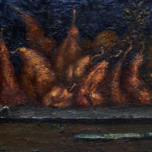 Оргия. 80х120. 2004