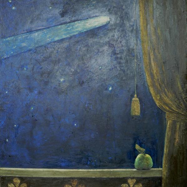 Комета 1 (диптих, правая часть). 2012. х.м. 110х100