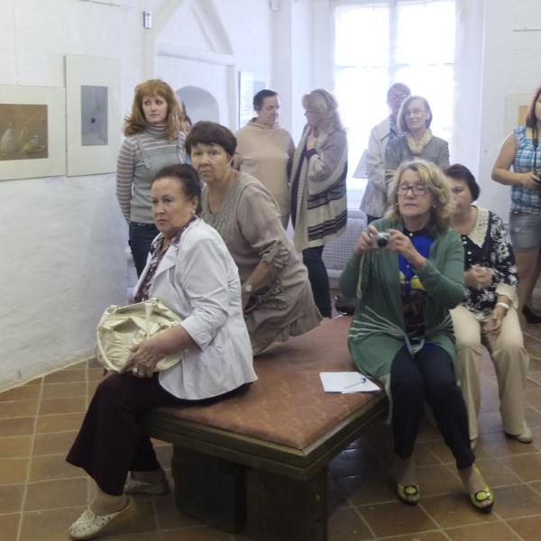 16 августа — открытие выставки.