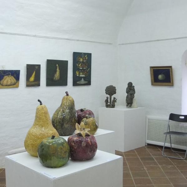 Выставочный зал 2 — плоды.